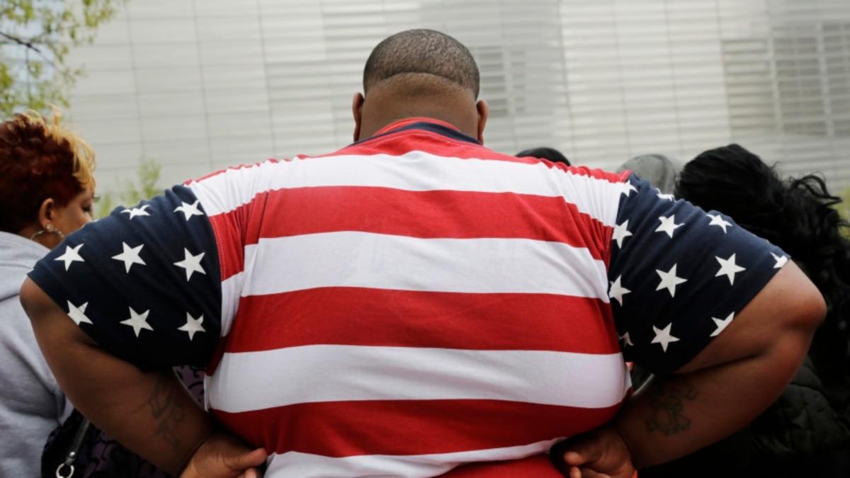 Average Weight of American Men Increased 7 Kilograms in 20