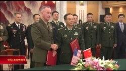 Mỹ-Trung ký thỏa thuận giảm nguy cơ xung đột