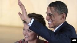 صدر اوباما اور صدر ڈلما روسف