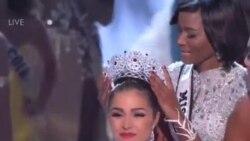 視頻﹕ 美國佳麗摘得2012環球小姐后冠