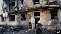 Donetsk, Ukraina. 17-sentabr, 2014-yil.