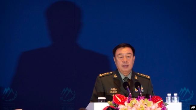 Phó Chủ tịch Quân ủy Trung ương Trung Quốc Phạm Trường Long.