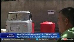 Shqipëri: Monument për protestën antikomuniste