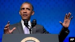 Un 43% de las personas entrevistadas aprueban la labor del presidente de Estados Unidos, Barack Obama