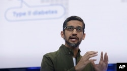 Сундар Пичаи, гендиректор компании Google (архивное фото)