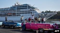 Američki kruzer u Havani