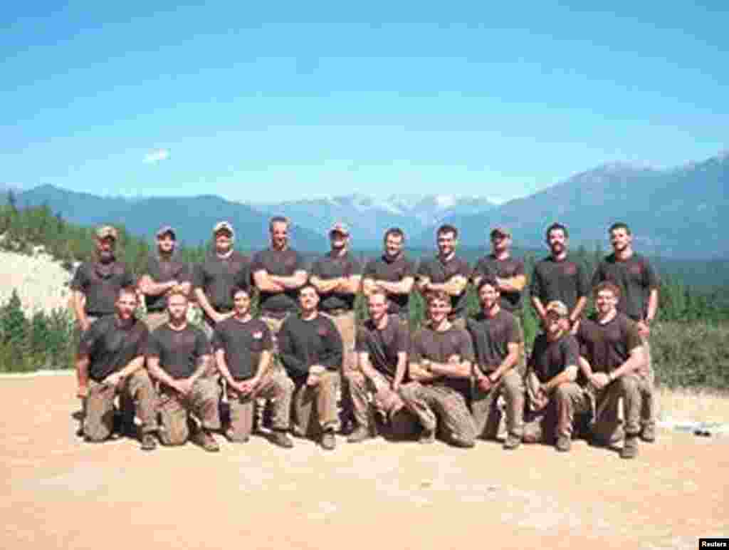The Granite Mountain Interagency Hotshot Crew is shown in this undated handout photo provided by the City of Prescott in Prescott, Arizona July 1, 2013. The elite team of 19 firemen lost their lives battling the fast-moving fire June 30, 2013.