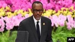 Le président rwandais, Paul Kagame à Beijing, le 3 septembre 2018.