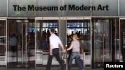 ورودی موزه هنرهای مدرن نیویورک موسوم به موما