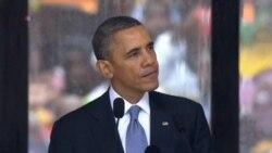 Obama Eulogizes Mandela