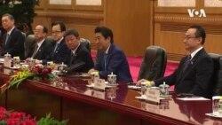 日本首相安倍晉三談香港新疆 習近平則一語帶過
