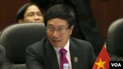 越南副總理兼外長范平明(資料照)
