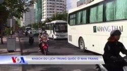 Khách du lịch Trung Quốc ở Nha Trang