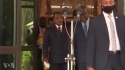 Mobimba ya point de presse ya Tshisekedi na Brazzaville (Totala)