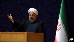 伊朗總統魯哈尼 (資料照片)
