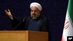 Presiden Iran Hassan Rouhani Rabu (15/4) mengabaikan pernyataan para legislator Amerika dalam perjanjian nuklir.