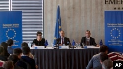 Konferencija za novinare posmatračke misije Evropske unije na Kosovu
