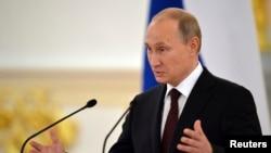 عکس آرشیوی از ولادیمیر پوتین رئیس جمهوری روسیه