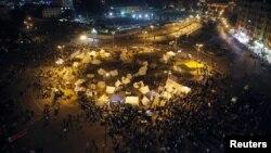 Акции протеста на площади Тахрир в Каире. Египет, 25 ноября 2012 года
