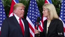Presidente americano falou à VOA sobre a cimeira e sobre o que ele espera daqui para frente