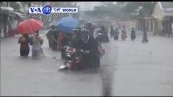 VOA60 Duniya: Wata Mahaukaciyar Guguwa ta Typhoon, Philippines, Disamba 08, 2014
