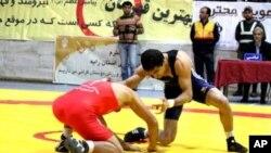 افغان پهلوانان د ۲۰۱۲ المپیک سیالیو ته چمتو دي