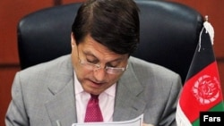 انورالحق احدی، وزیر پیشین تجارت و صنایع و رهبر حزب افغان ملت