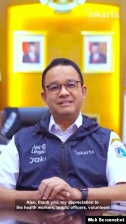 Gubernur DKI Jakarta Anies Baswedan berencana memberlakukan sertifikat vaksinasi COVID-19 sebagai syarat pembukaan kegiatan masyarakat di sektor non esensial dan kritikal (Foto:VOA)