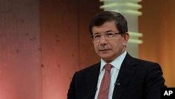 아흐메트 다부토글루 터키 외무장관 (자료사진).