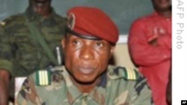 Captain Moussa Dadis Camara is receiving medical treatment after a botched assassination attempt.