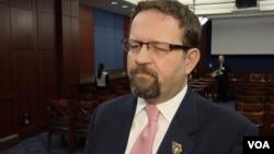 سبشن گورکا از برخی سیاست های حکومت بارک اوباما در قبال افغانستان انتقاد کرد. (عکس از آرشیف)
