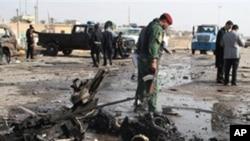 عراق: بم دھماکے میں تین افراد ہلاک