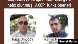 AXCP fəəalları həbs edilib