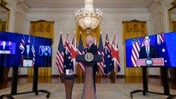 VOA卫视-海峡论谈 美英澳三结义剑指中国? 习近平下令备战打仗