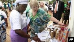 Michelle Bachelet em África