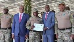 Ayiti: Yon Premye Kòwòt Batayon Polis Fwontalyè Gradye e Prè pou Deplwaye