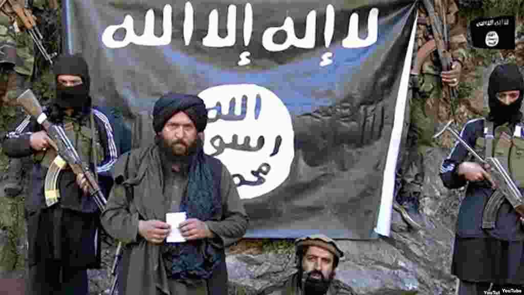 Les membres du groupe EI en Afghanistan
