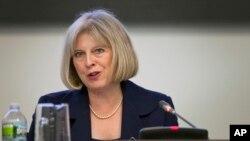 Parmi les grands favoris pour succéder au Premier ministre britannique David Cameron, figure la ministre de l'Intérieur Theresa May (photo).