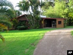 The Rohrers' recording studio is in the garage of their home near the little town of Ha'iku in Maui.