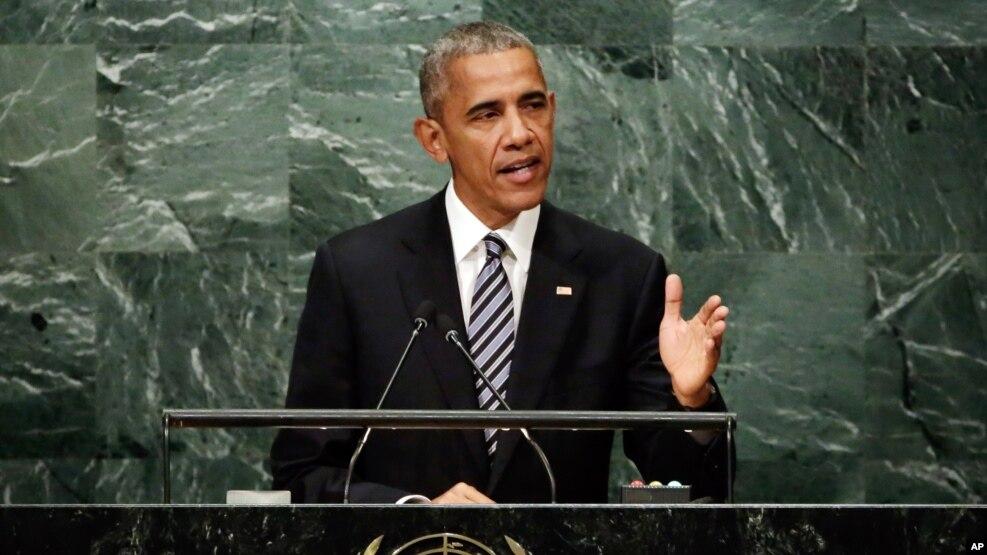 Fjalimi i Presidentit Obama para Asamblesë së Përgjithshme të OKB