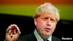 Đương kim thủ tướng Anh, Boris Johnson.