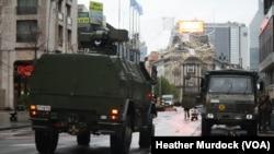 Brussels Remains on High Alert