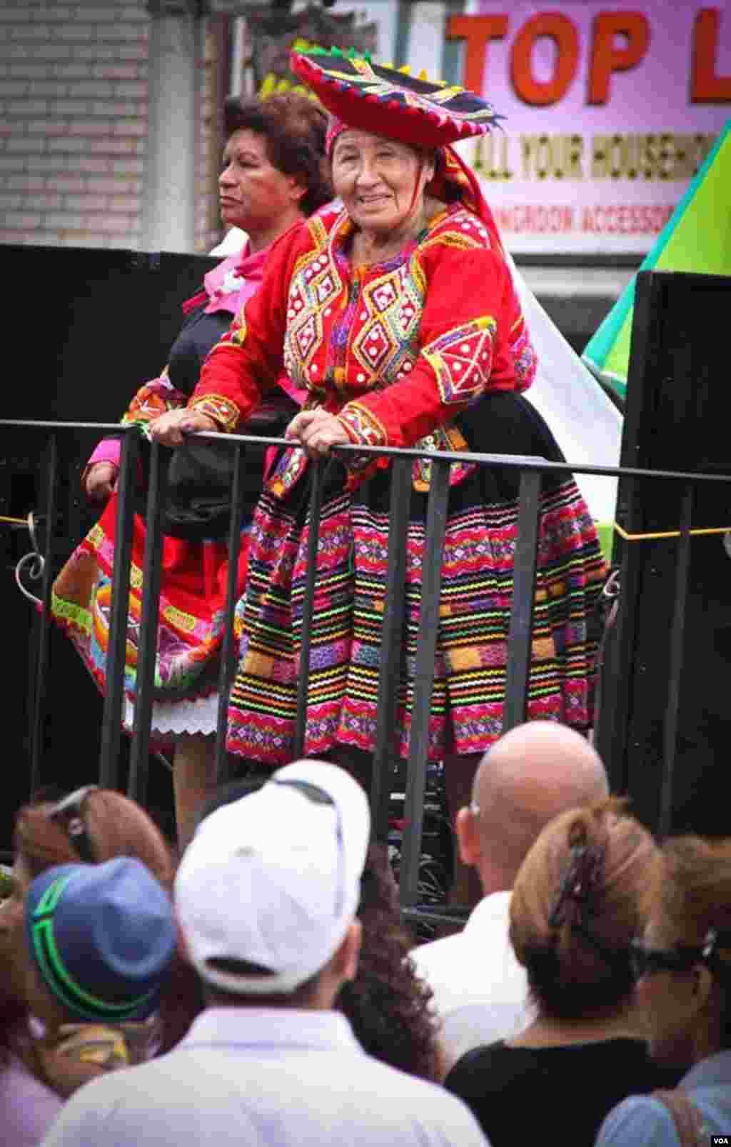 La celebración del día de la Independencia del Perú se celebró en las calles de Nueva Jersey y Arlington, en Virginia.