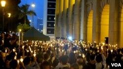 2012年6月13日港人抗議示威
