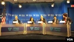 Soner Çağaptay, Amberin Zaman, Henri Barkey, Steven Cook ve Kılıç Buğra Kanat Woodrow Wilson Merkezi'nde düzenlenen panelde konuştu
