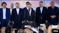 Правящая партия «Грузинская мечта» - 48,68% голосов избирателей