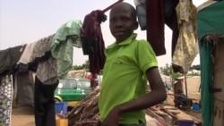 Reportage de Nicolas Pinault avec les deplacés ayant fui Boko Haram