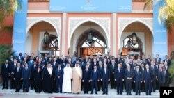 Группа «Друзья Сирии» в Марракеше, Марокко. 12 декабря 2012 года