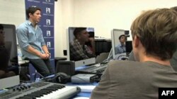 Aspiring young musicians attend a Los Angeles summer camp and got tips from music industry professionals