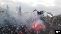Беспорядки на Манежной площади в Москве в декабре 2010г.